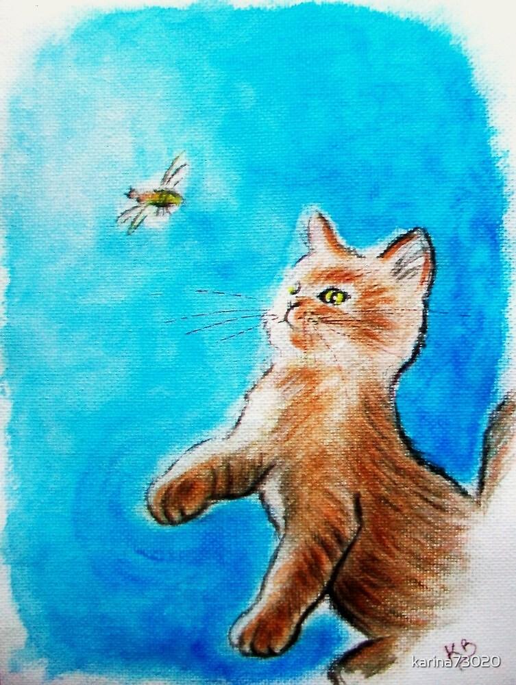 The bee..... :) by karina73020