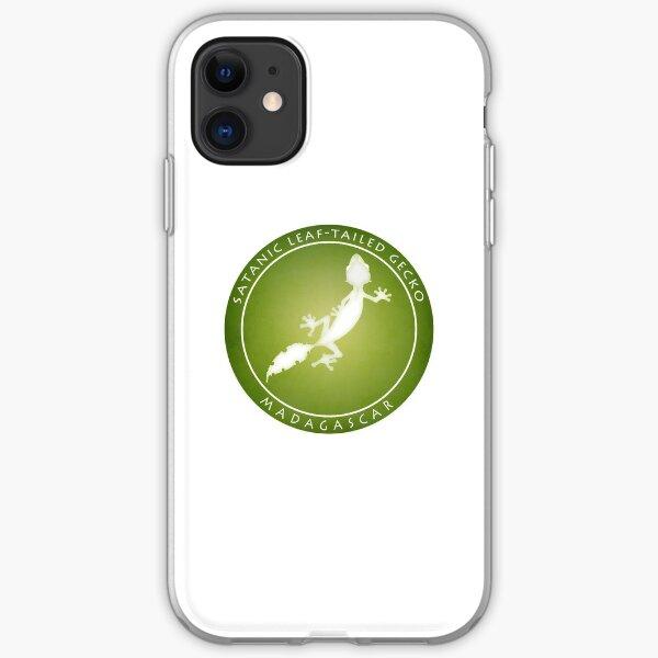 Satanic leaf-tailed gecko Madagascar wildlife iPhone Soft Case