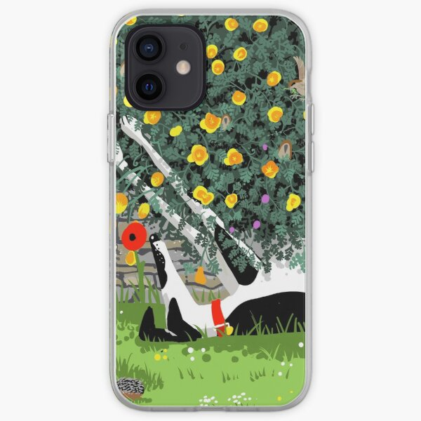 The Cowhound and the Yellow Flowers iPhone Soft Case