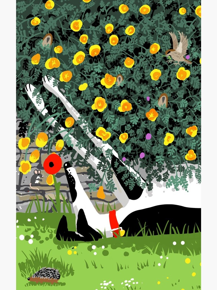 The Cowhound and the Yellow Flowers by RichSkipworth