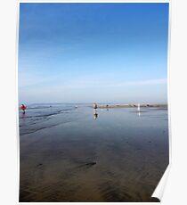 Westward Ho! Beach Poster