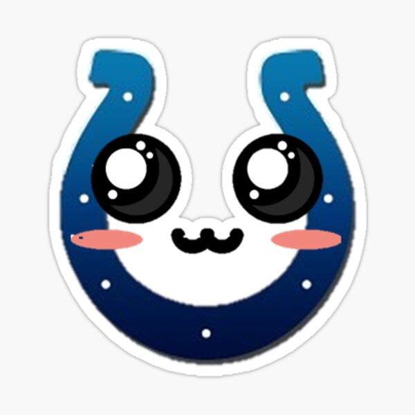 Colts Foot Ball Kawaii Character Sticker