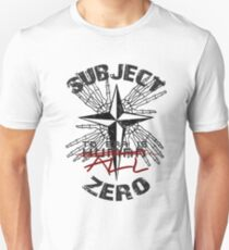 Subject Zero- To Err is All Unisex T-Shirt