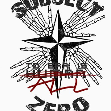 Subject Zero- To Err is All by hoiist