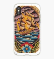 Ship in Stormy Weather iPhone Case