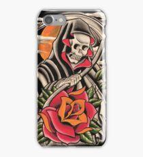 Rose and Reaper iPhone Case/Skin