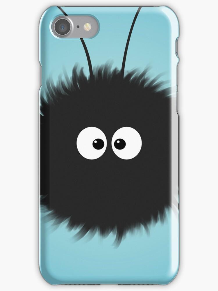 Dazzled Bug Blue Cute IPhone Case by Boriana Giormova