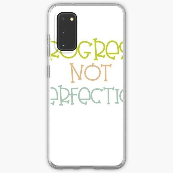 Progress not perfection  Samsung Galaxy Soft Case