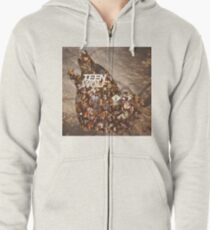 Teen wolf forest Zipped Hoodie