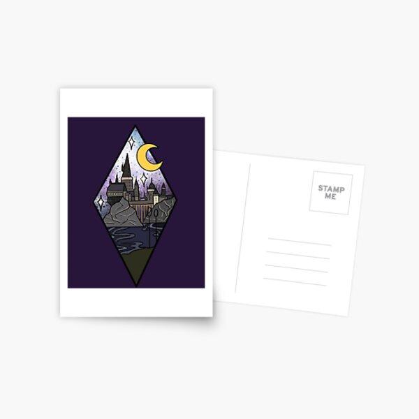 Nightly Wizard Postcard