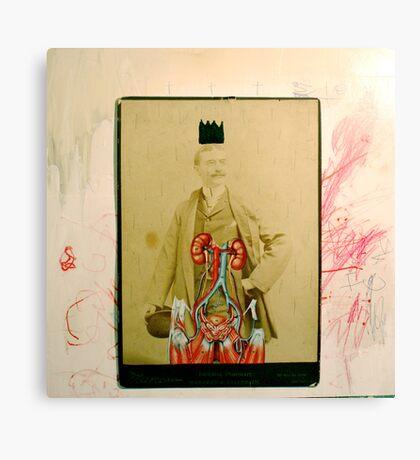 SOMBRERO Y CORONA: UN RETRATO IMPERIAL (hat and crown: an imperial portrait) Canvas Print