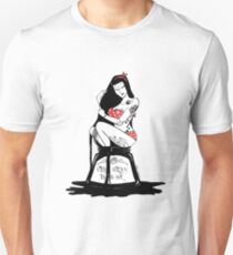 Sexy black Ink T-shirt Girl Unisex T-Shirt