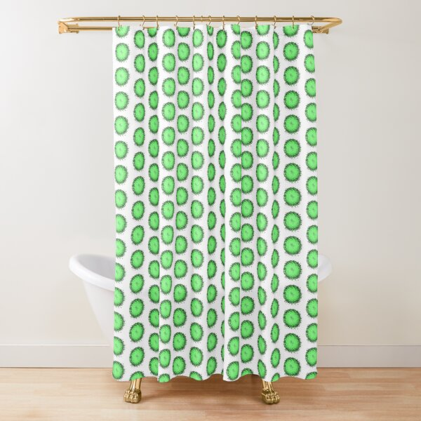Is it a curveball? Shower Curtain