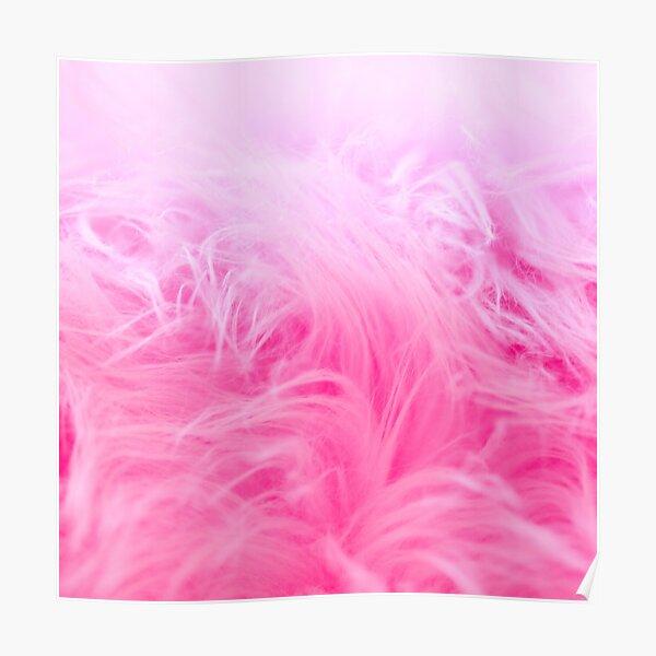 Pink wool Poster