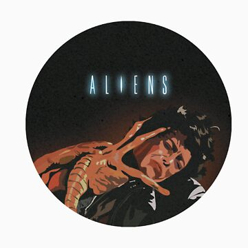 Aliens - Ripley Vs Facehugger by willisco