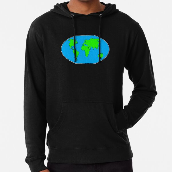 There Is Only One Planet Lightweight Hoodie