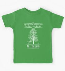 No. 1 The Larch Kids Tee