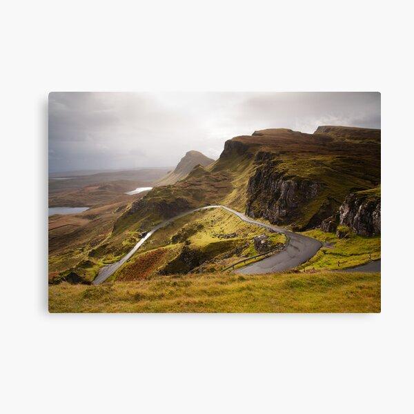Quiraing Skye Canvas Print