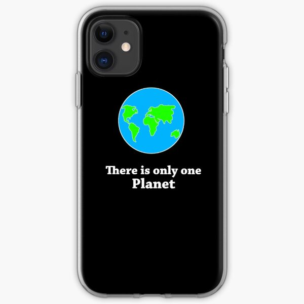 There Is Only One Planet iPhone Soft Case