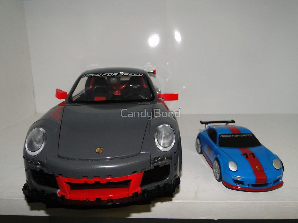 Porshe Need for Speed 2x by CandyBond