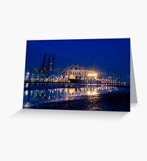 Millbrook Docks 01-2013 Greeting Card