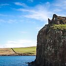 Duntulm, Isle of Syke by JSPArt