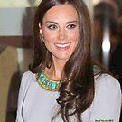 Kate Middleton by David Nicolas