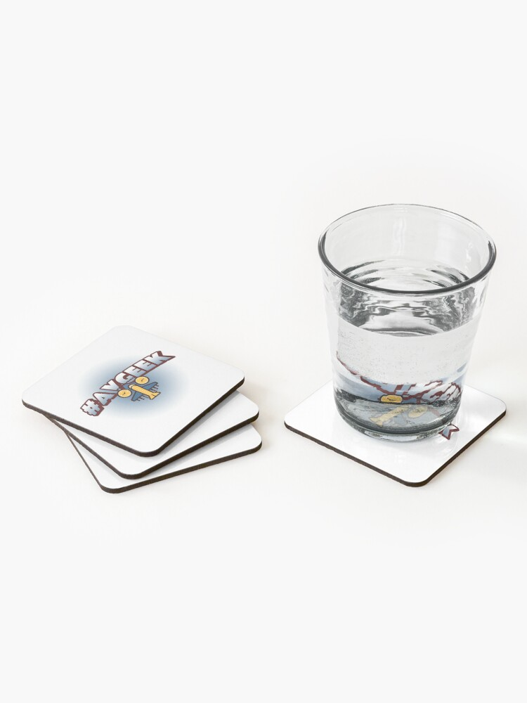 Alternate view of We are AVGEEKS! Coasters (Set of 4)