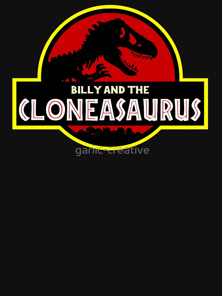 TShirtGifter presents: Billy And The Cloneasaurus | Unisex T-Shirt