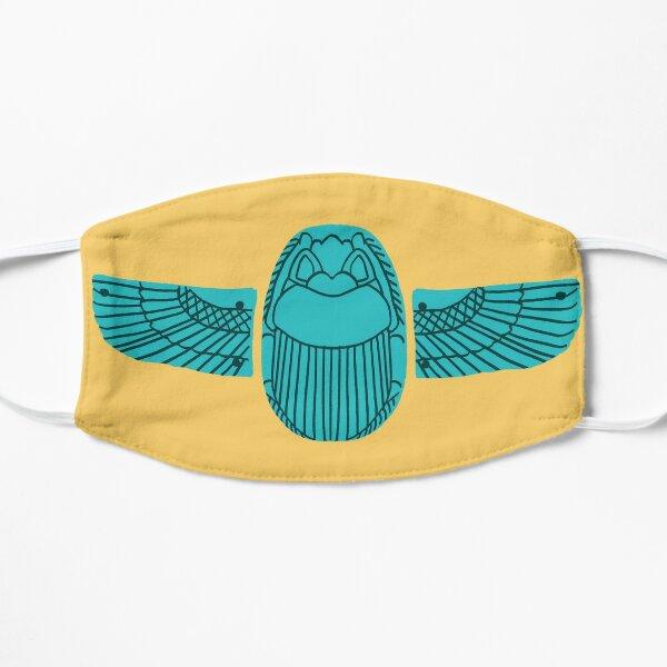 Egyptian Faience Flat Mask