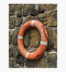 Buoyancy Aid Photographic Print