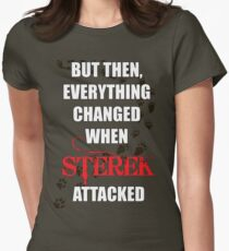 Sterek Changes Everything Womens Fitted T-Shirt