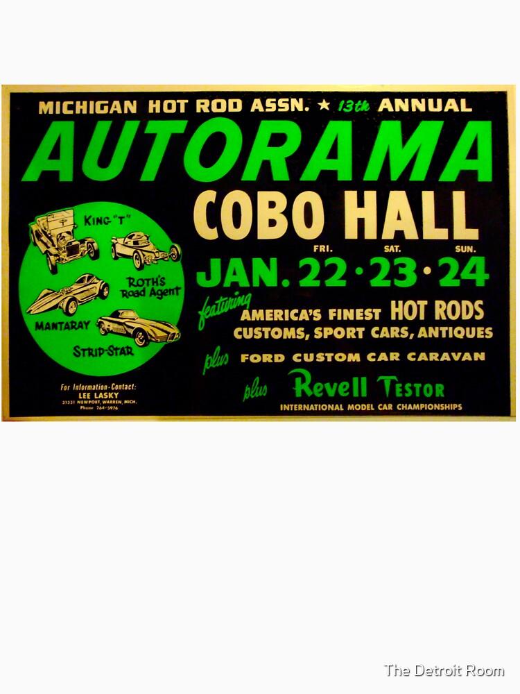 Autorama Poster Cobo Hall 1966 by krawlspace