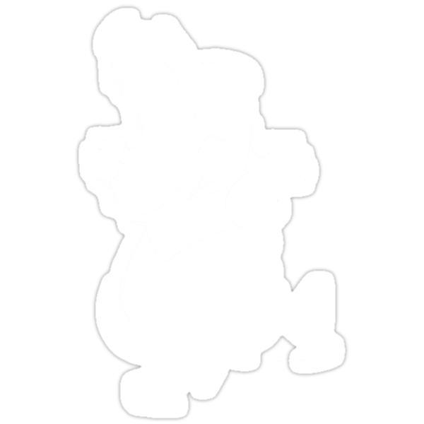 Totodile - White by dreamlandart