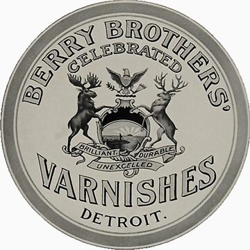 Berry Brothers Celebrated Varnishes Detroit Ad by krawlspace