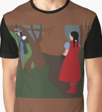 Little Red Riding Hood And the Wolf (INTO THE WOODS)  Graphic T-Shirt