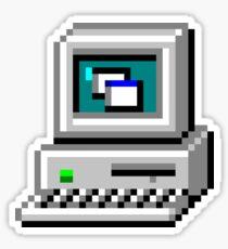 Computer Icon Sticker