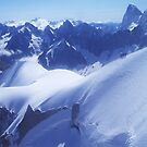 Blue View from the Top by jlv-