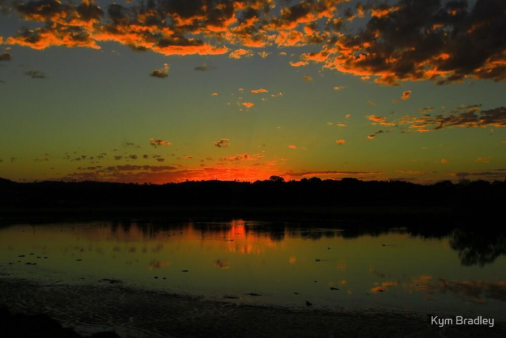Sunset Over Canberra 11/01/2013 by Kym Bradley