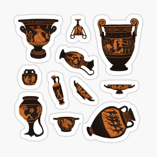 Ancient Greek Pottery Sticker