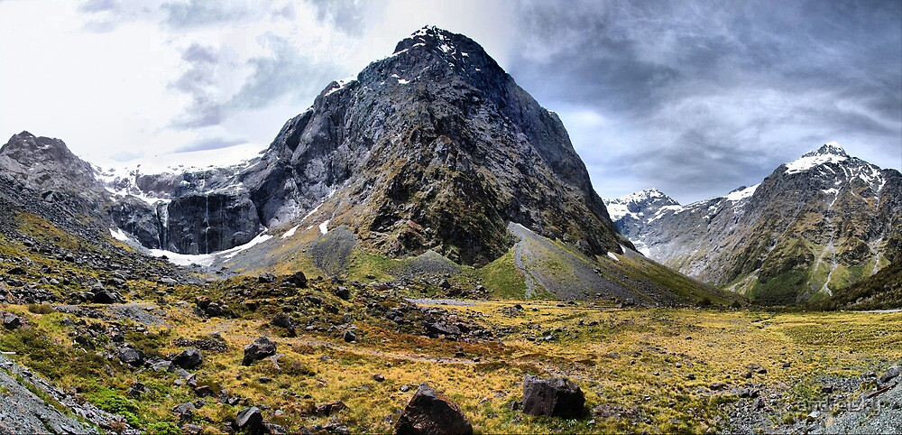 Mount Talbot, NZ by andreisky