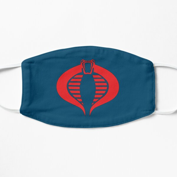 Cobra Navy Blue/Red GI Joe Cobra Commander Mask