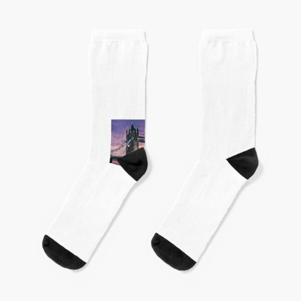 White And Pink Pitter Pattern #6 Men-Women Adult Ankle Socks Novelty Socks