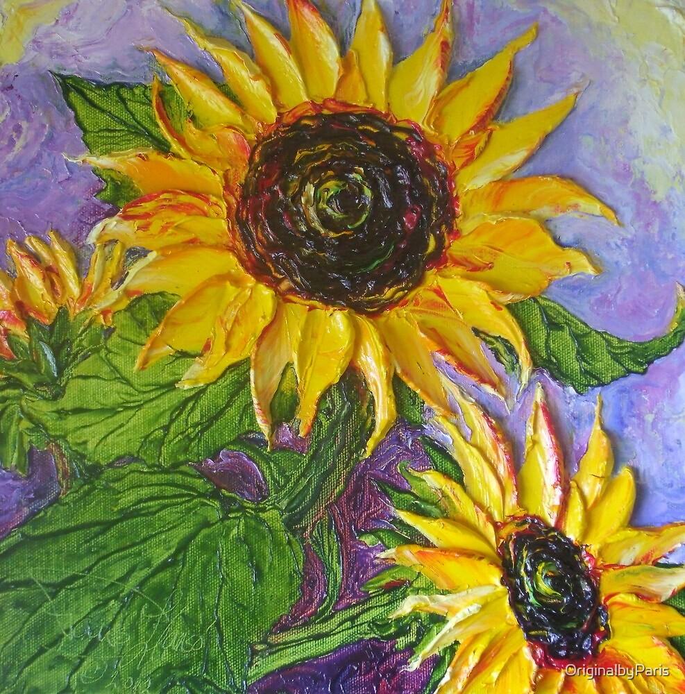 Paris' Sunflowers by OriginalbyParis