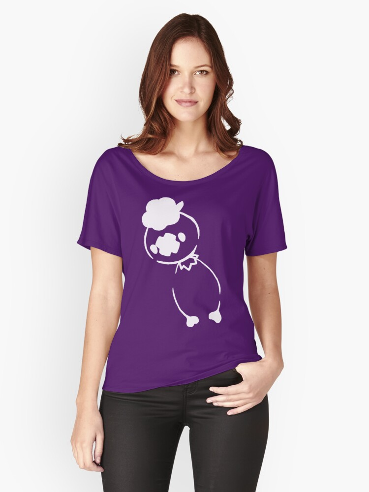Drifloon - White Women's Relaxed Fit T-Shirt Front