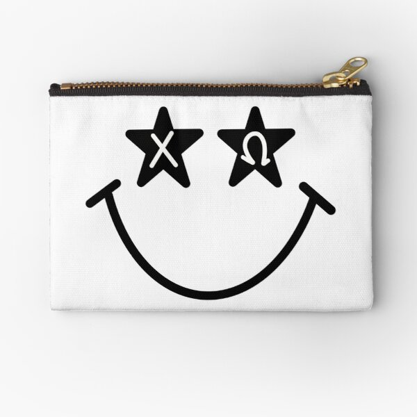 chi omega starry eyed smiley Zipper Pouch