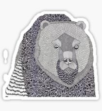 Where Bear Sticker