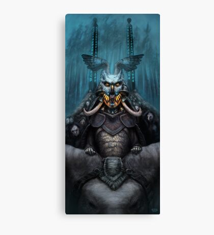 The Wizard's Hat and the Mechanical Man Canvas Print