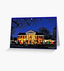 Moon Graces Graceland Greeting Card