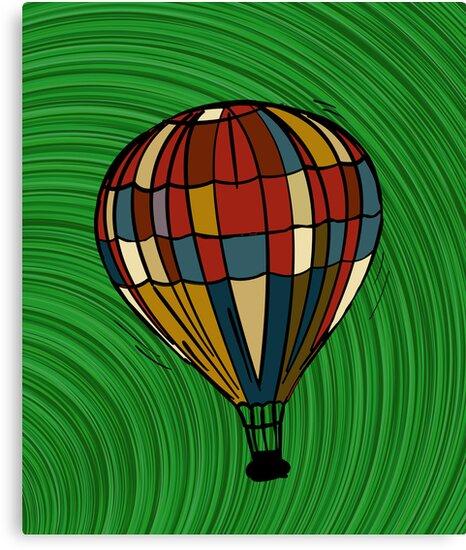 Fantasy balloon by Richard Laschon